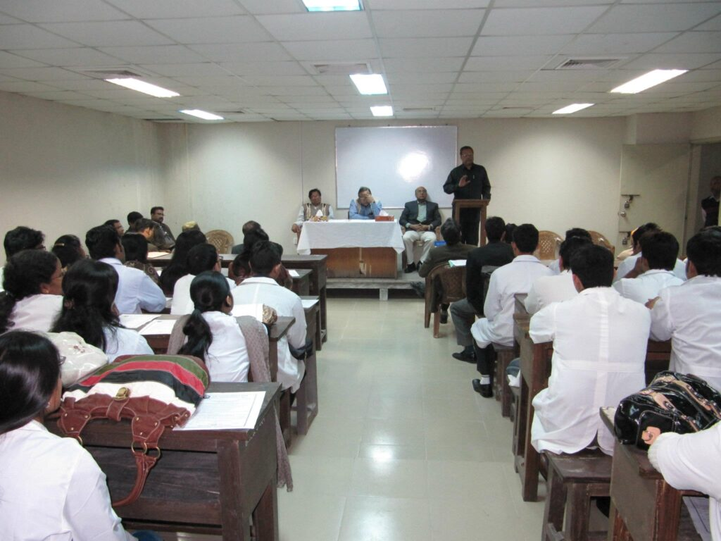 Dhaka National Medical College-College Classroom