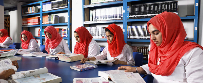 Ad-Din Women's Medical College Library