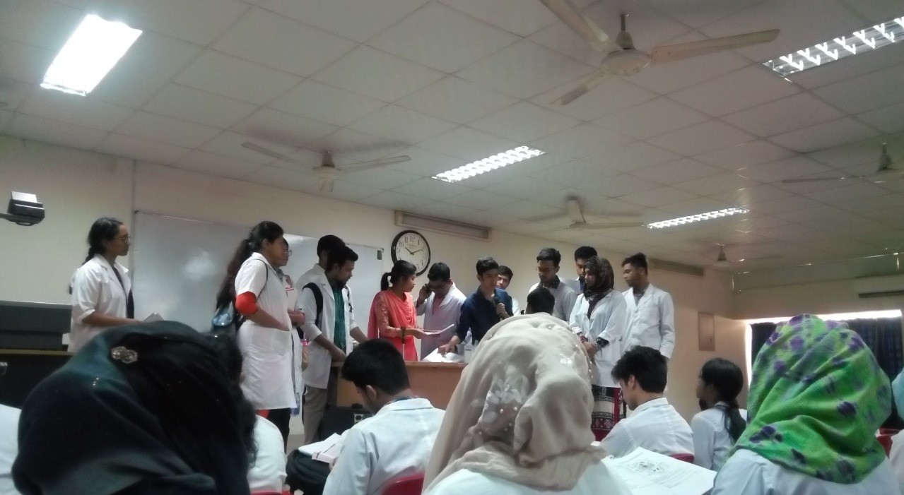 Holy Family Red Crescent Medical College Classroom